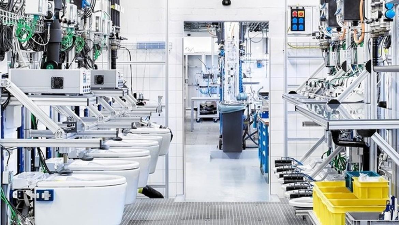 Geberit Testing Production Line