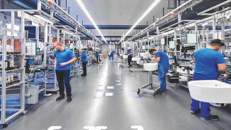 Geberit AquaClean Production line