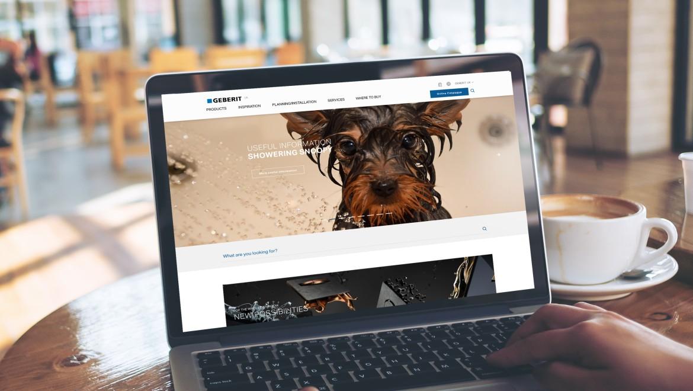 Geberit unveils two new websites