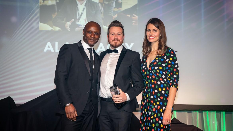 Alan Lacey at the BESMA Awards 2019