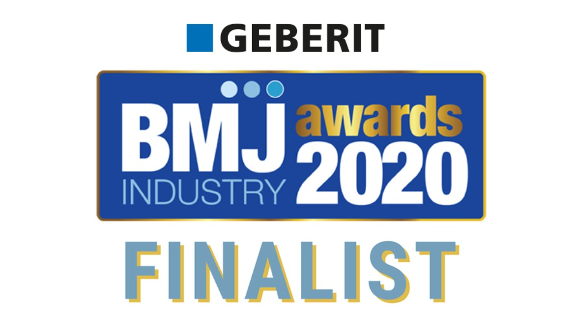 Geberit makes BMJ Industry Awards shortlist