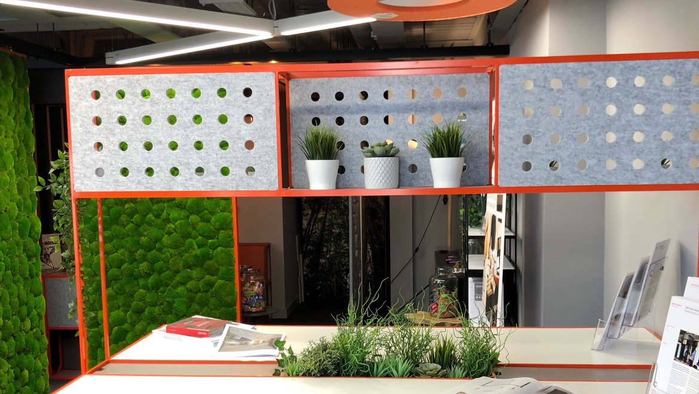 Creatif acoustic panels at Clerkenwell Design Week