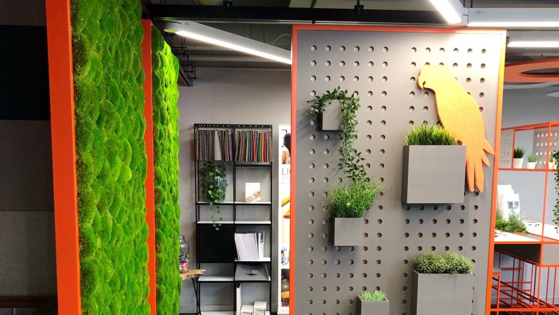 Creatif biophilic design at Clerkenwell Design Week