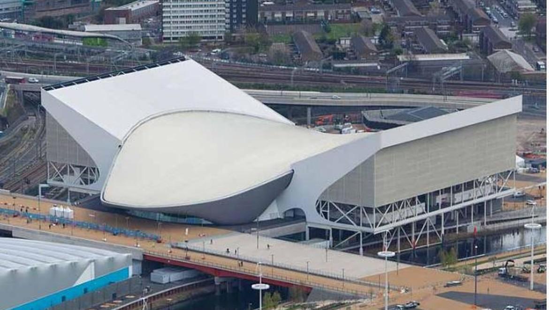 2012 Olympics Aquatic Centre Exterior