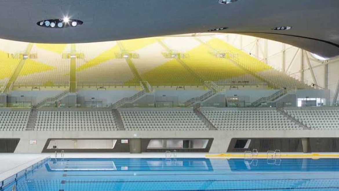 2012 Olympics Aquatic Centre