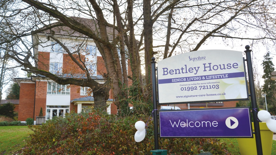 Bentley House, Signature Care Homes